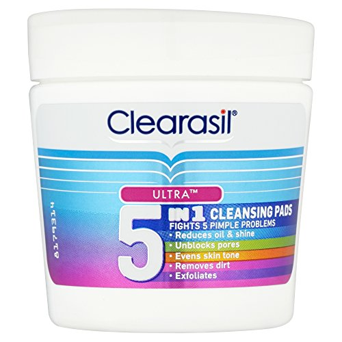 Clearasil Ultra 5 in 1 Cleansing Pads 65 Pads