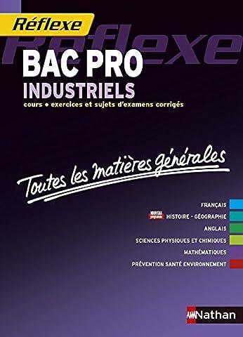Toutes les matières générales Bac Pro