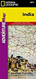 India: Travel Maps International Adventure Map (National Geographic Adventure Map)