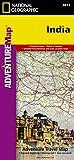 India: Travel Maps International Adventure Map (National Geographic Adventure Map)