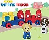 Tutor Blocks Magnetbausteine Serie 204 ABC-Truck Kleinkind Lernbausteine Babyspielzeug Motorikspielzeug ab 6 Monate