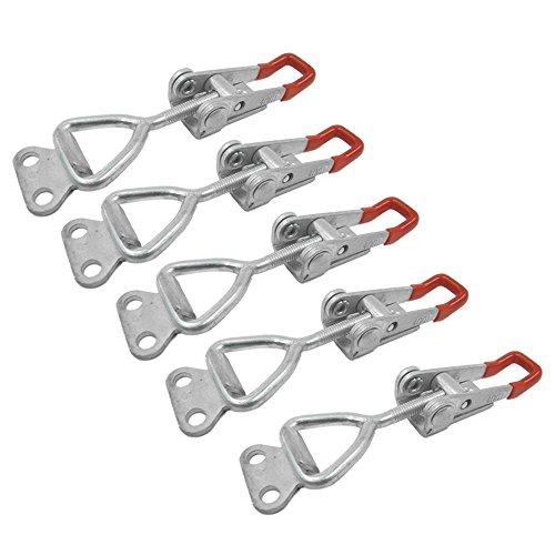 BigTron 5 x 100KG 220lbs palanca abrazadera Metal cierre pestillo de la puerta para el refrigerador, carga caja de palanca, el tronco y el armario