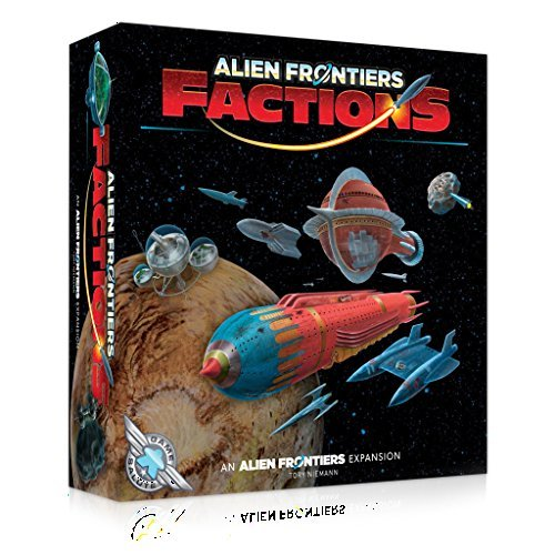 ALIEN FRONTIERS - FACTIONS