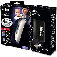 Braun Thermoscan 7 - Termómetro digital auricular + caja de protección