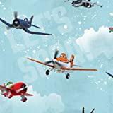 Cheapest Graham & Brown Paper Wallpaper Mural PLANES Wallpaper Kids @ Home IV Fleece 70 - 237 on