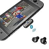 GULIkit Adaptateur Bluetooth pour Nintendo Switch, Route+ USB C Audio sans Fil Émetteur Bluetooth avec Faible Latence Aptx pour Bluetooth Casque, Haut-Parleur, Ordinateur de Bureau