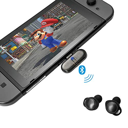 GULIkit Route+ USB C Bluetooth Adapter Audio Empfänger mit aptX Low Latency für Nintendo Switch, Kabelloser Blutooth Transmitter Kein Treiber benötigt Unterstützt Bluetooth Kopfhörer, Lautsprecher