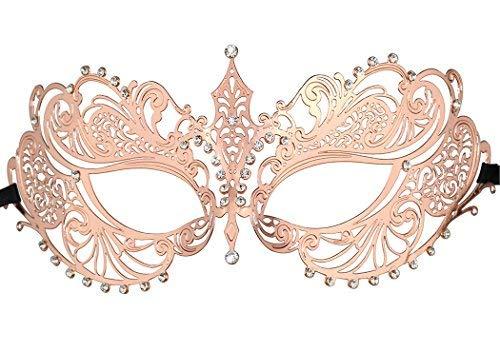 Thmyo Halloween Maske Crown Maske Laser Cut Metall Frauen Maskerade Maske Venezianische ()