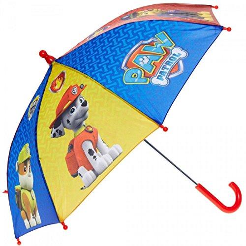 Paw Patrol Ombrello Perletti con manico, Apertura Manuale ,Fantasia Paw Patrol .Tutti gli Ombrelli sono Corredati di Cartellino e Ologramma con Certificazione del Marchio Total Quality e Relative