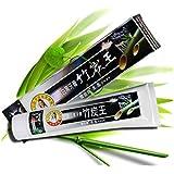 Urparcel 100% Naturel Hygiène dentaire bio dentifrice à Bamboo Charcoal soin fraicheur dentifrice blancheur Soins...