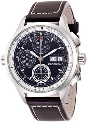 Mens Hamilton Khaki X-Patrol Automatic Chronograph Watch H76556731