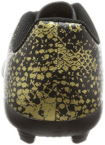 adidas Jungen X 16.4 Fxg J Fußballschuhe, Rouge Solaire/Argent/Rouge Vif, UK Schwarz (Core Black/Core Black/Gold Metallic)