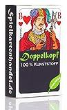 Doppelkopf Spielkarten aus 100% Kunststoff, *Premium* (Plastik +) Französisch, wasserfest