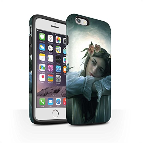 Officiel Elena Dudina Coque / Matte Robuste Antichoc Etui pour Apple iPhone 6 / Rêveur Design / Un avec la Nature Collection Rêveur