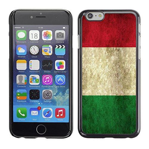 Graphic4You Vintage Uralt Flagge Von Schweiz Schweizer Design Harte Hülle Case Tasche Schutzhülle für Apple iPhone 6 / 6S Italien