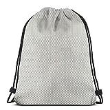 "Italian Flag Star Drawstring Shoulder Bags Gym Bag Travel Backpack Lightweight Gym for Men Women 16.9""x14"""