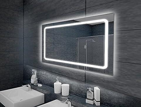 KROLLMANN Spiegel mit Belechtung Wandspiegel Badspiegel LED Modell