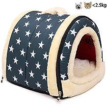 Enko 2 en 1 Cómodo Casa para Mascotas y Sofá, De Alta Calidad En Interiores y Exteriores Portátil Plegable de Cama Para Perro / Cama Para Gato.