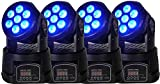 Flash Set 4 Mini Wash con 7 led da 10W / Bundle