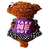 EUZeo Sommer Cute Pet Puppy Kleine Hund Katze Haustier Kleid Bekleidung Kleidung Fliegenhülse Lovely Buchstaben gedruckt Kleider Jungen Hund Mädchen Hunde