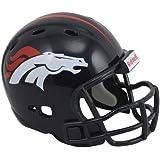 Riddell - Casco de béisbol de los Denver Broncos para coleccionista
