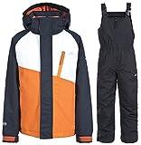 Trespass, Tuta da sci Unisex bambino Crawley, Arancione (Carrot), 3-4 anni