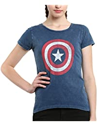 Avengers by Free Authority Women's Poly Cotton T-Shirt
