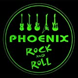4x ccqp2056-g PHOENIX Guitar Weapon Rock & Roll Bar Beer 3D Drink Coasters