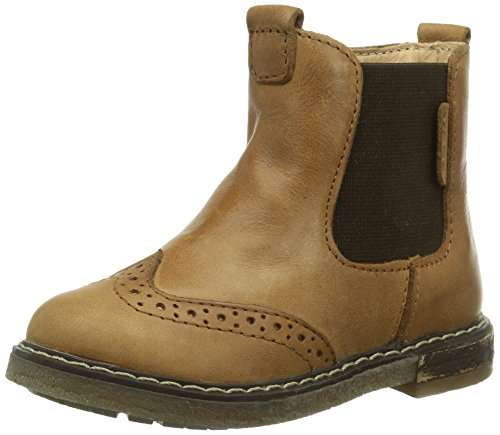 Geox B Vislumbre Do Bebé Walker Sapatos Marrons (cognacc6001)