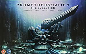 Prometheus to Alien: The Evolution Box Set (9-Disc Set) [Blu-ray] [1979]