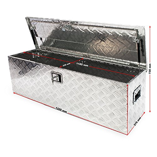 Werkzeugbox Aluminium Alu-Box Transportkiste Staukasten Werkzeugkasten Kiste - 2