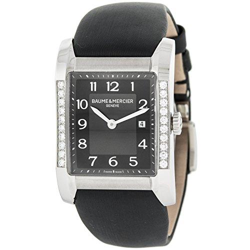 Baume Mercier Hampton MOA10022 e diamanti, quarzo-Orologio da donna