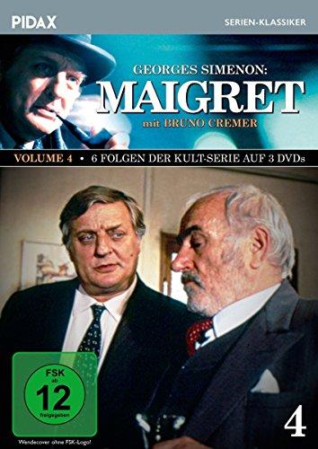 Bild von Maigret, Vol. 4 / Weitere 6 Folgen der Kult-Serie mit Bruno Cremer nach den Romanen von Georges Simenon (Pidax Serien-Klassiker) [3 DVDs]