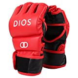 Dios Gladiator MMA Boxing Gloves Small/Medium- Red