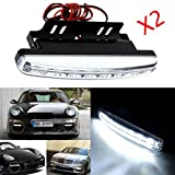 Tonsee 2pc 8LED Daytime Driving Running Light DRL Car Fog...