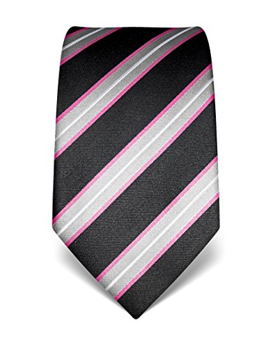 vb-mens-silk-tie-striped-many-colours-availablerose