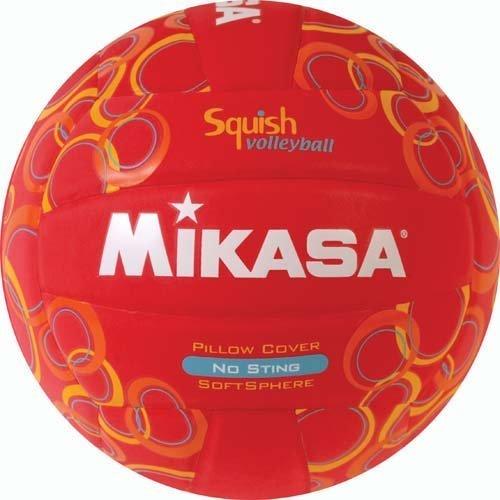 Olympia Sport bl319p Mikasa no-sting Squish Volleyball-swirls-red von Olympia Mikasa-swirl