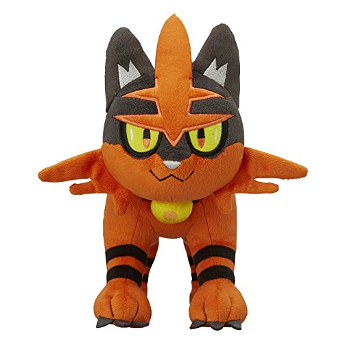 Pokemon Center Originale Peluche Bambola Torracat(Pokemon Sun Moon)