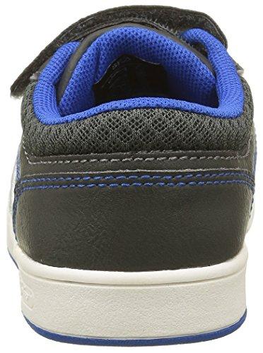 New York Yankees Ferguson Low, Sneakers Basses Garçon Gris (Dark Grey/Electric Blue 304)