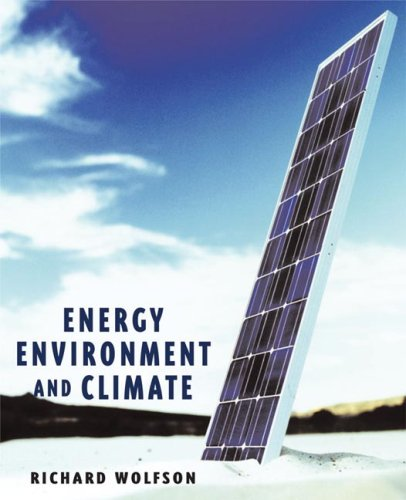 Energy, Environment and Climate