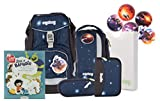 ergobag pack Ranzenset Galaxy Edition mit Gratis Superbuch Bea BAHADIR KoBärnikus