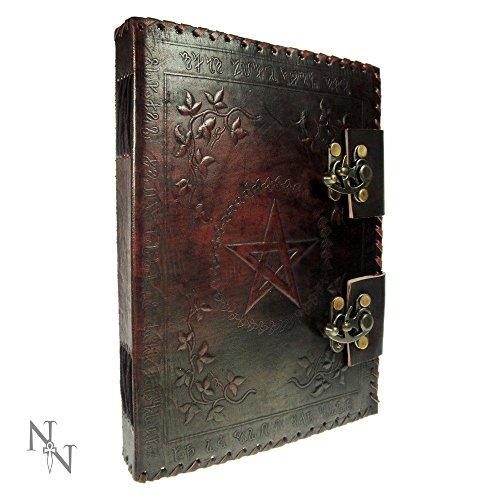Nemesis Now - Piccolo Libro Di Ombre In Pelle Rivista - 25 Centimetri