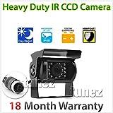 4pol Heavy Duty 12V 24V CCD Farbe Reverse Rückfahrkamera Parking Rear View