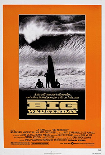 MBPOSTERS Big Wednesday 1978 Movie Film Plakat, Poster Plakat in Sizes