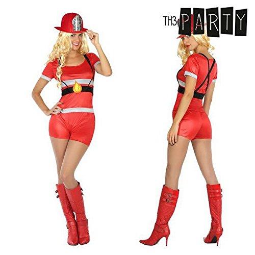 Costume per Adulti Th3 Party Pompiere donna - XL
