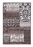 andiamo Design Teppich Vintage, orientalisches Muster, Kurzflor, getuftet, Sehr robust, Größe:57x180cm, Farbe:Taupe