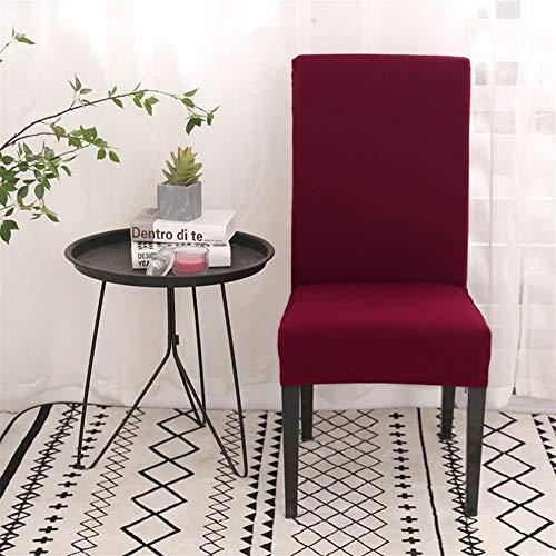 YWCXMY-LDL Wein-Rot-Fest Farbe Elastic Dining Stuhl-Abdeckung Bankett-Sitzabdeckung Abnehmbarer Stuhl Wrap-Schutz Slipcover Home Hotel (Color : Pattern 10, Specification : Universal Size) -