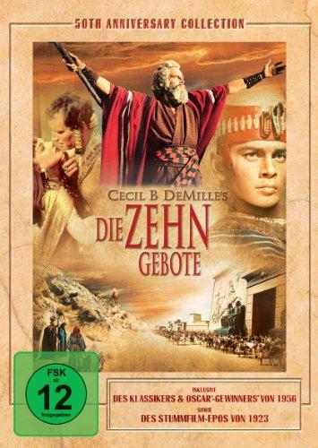 Bild von Die zehn Gebote (50th Anniversary Edition) [3 DVDs]