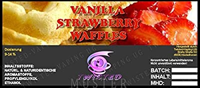 Twisted Aroma Vanilla Strawberry Waffles von Twisted Vaping