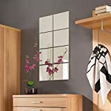 8 Stück Spiegelfliesen Spiegelkachel Fliesenspiegel Spiegel je 20,5x20,5cm Wanddekoration...